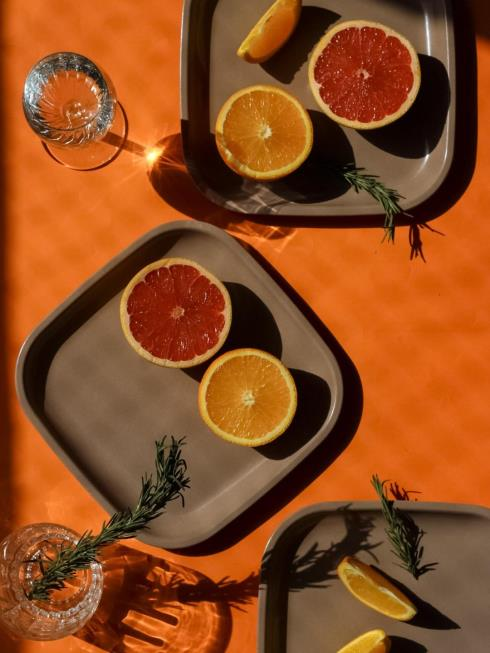 Agro Composites Dining Brown  Plates & Platters