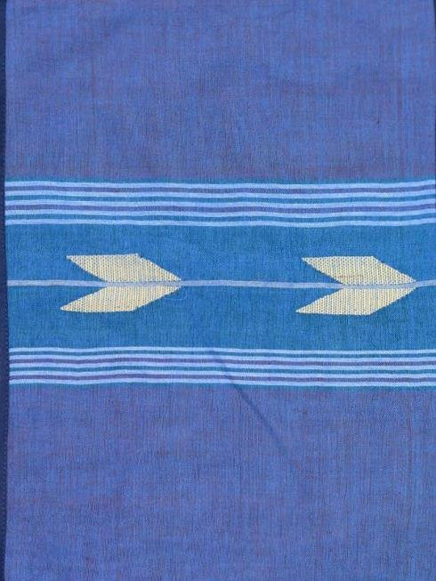 ArtEastri Furnishing Blue & Off White Table Placemat