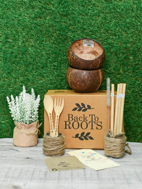 Back To Roots Dining Natural Set