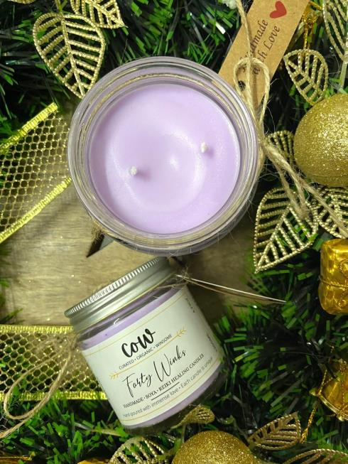 COW Home Natural  Aroma Candle