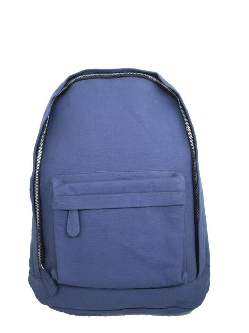 FOLK Unisex Blue Backpack Bag