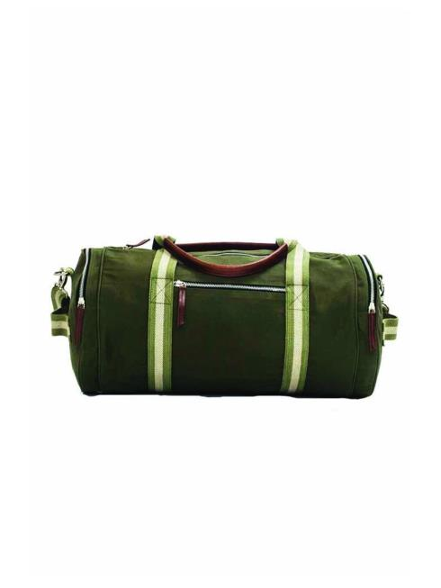 FOLK Unisex Green Duffel Bag