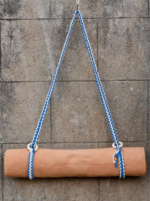 Indian Yards Therapy Navy Blue & Off White Yoga accessories