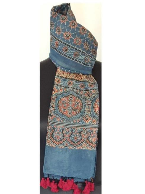 Itiee Kritee Lifestyle Accessories Blue Stole