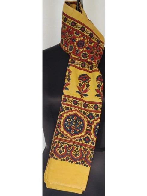 Itiee Kritee Lifestyle Accessories Yellow & Crimson Red Stole