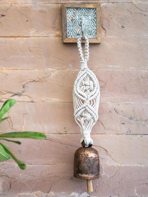 One O Eight Knots Decor Ivory Bells