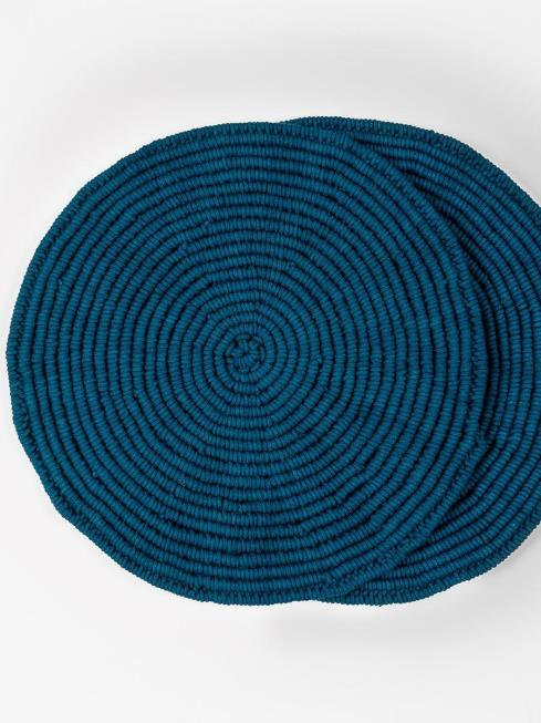 One O Eight Knots Furnishing Indigo Table Placemat